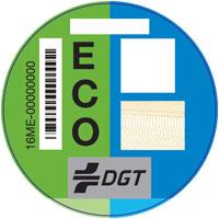 Distintivos medioambientales DGT