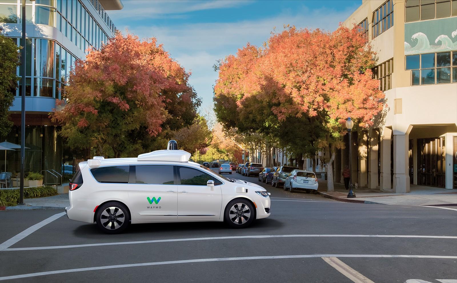 Vehículos autónomos Google Waymo