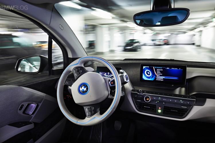 Vehículos autónomos BMW