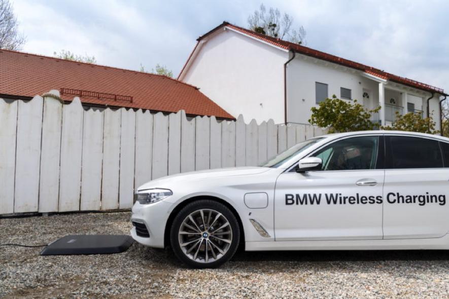 Tecnologías automoción BMW Wireless Charging